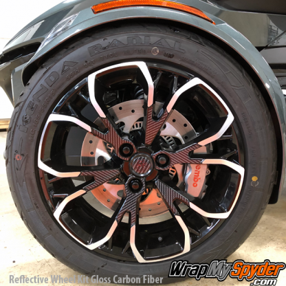 2020+-BRP-Can-am-Spyder-RT-Reflective-Wheel-kit-Gloss-Carbon-Fiber