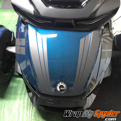 2020-+-BRP-Can-am-Spyder-RT-Limited-Tri-Wing-Frunk-stripe-Charcoal-Metallic