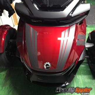 2020-+-BRP-Can-am-Spyder-RT-Limited-Tri-Wing-Frunk-stripe-Matte-Black