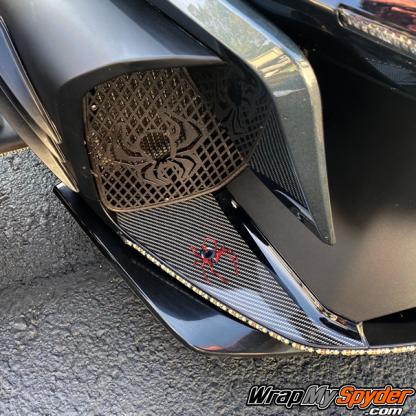 2020+-Spyder-RT-lower-air-dam-Red-Spider-over-digital-carbon-fiber