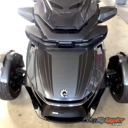 2020 BRP Can-am Spyder RT Tri-Wing Racing stripe