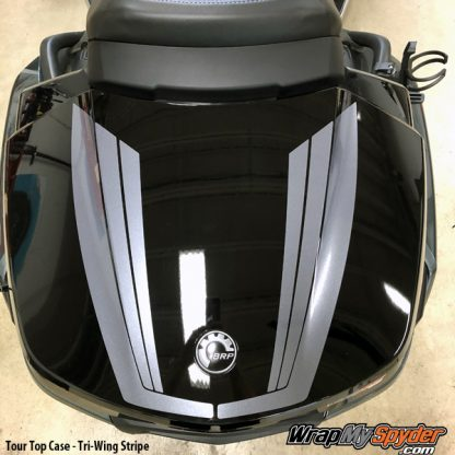 BRP Can-am Spyder F3 Limited - 2020 RT Limited Tour Top Case Tri-Wing Stripe