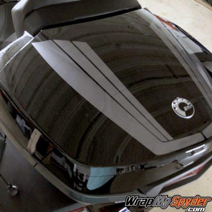 BRP Can-am Spyder Tour Top Case Tri-Wing Stripe