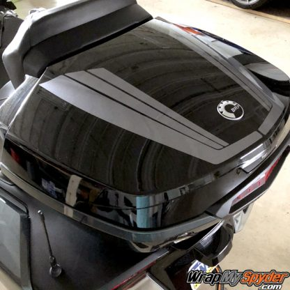 BRP Can-am Spyder Top Case Tri-Wing Stripe