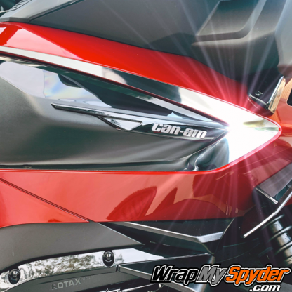 2020+ BRP Can-am Spyder RT Boomerang chrome side insert