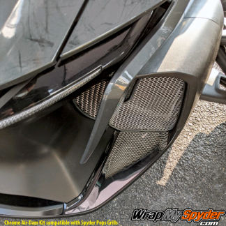 2020 Can-am Spyder RT Air-Dam chrome intake