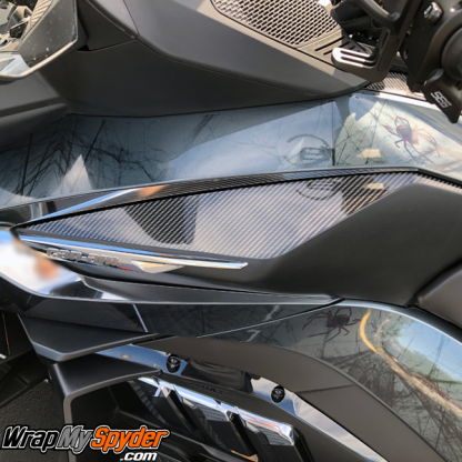 2020-BRP-Can-am-Spyder-RT-Knee-Panel-Gloss-Carbon-Fiber