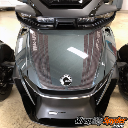 2020+-Can-am-Spyder-RT-Tri-Wing-Frunk-Stripe-gloss-carbon-fiber-with-text