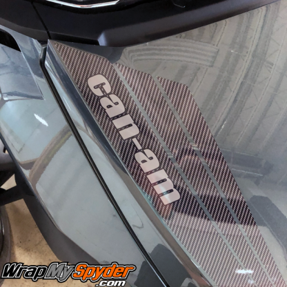 2020+-Can-am-Spyder-RT-Tri-Wing-Frunk-Stripe-gloss-carbon-fiber-&--text