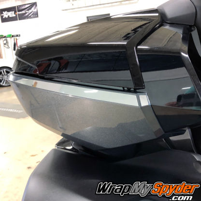 BRP-Can-am-Spyder-Top-Case-Side-bar-in chrome-finish. Fits 2020+ RT Limited and 2017+ F3 Limited models