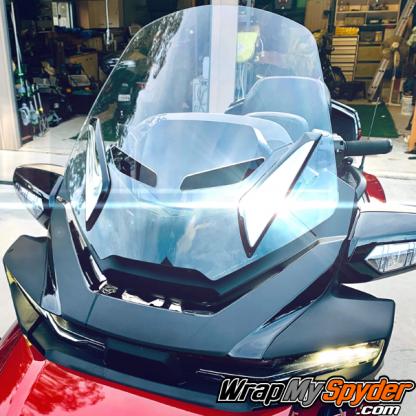 BRP Can-am Spyder 2020-Spyder-RT-Chrome-Windshield-Bracket Insert