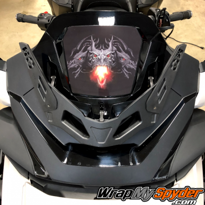 2020+-Spyder-RT-Windshield-Plate-logo-Dargon-Fire