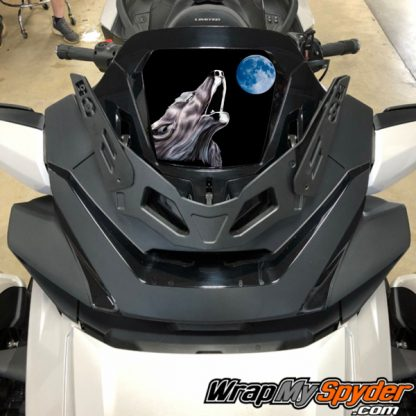 2020-Spyder-RT-Windshield-Plate-logo-wolf moon