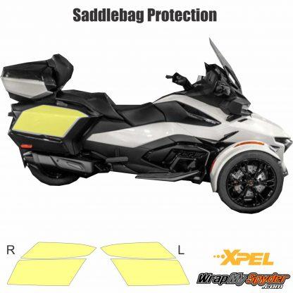 2020+ BRP Can-am Spyder Saddle bag protection kit. Saddle Bag accessory