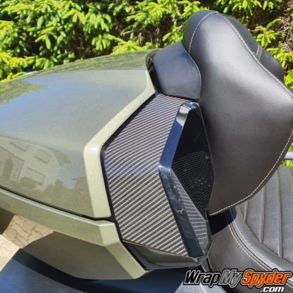 Can-am Spyder RT Limited Speaker-protection-Sea-to-Sky gloss digital carbon fiber