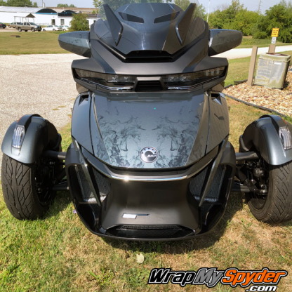 2020+-BRP Can-am Spyder-RT Limited-Ghost-flame wrap kit