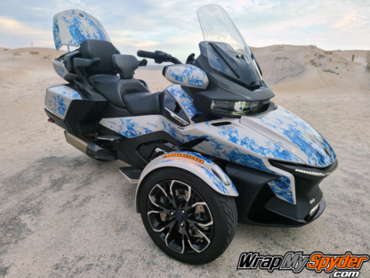 2021-Can-am-Spyder-RT-Limited-Ghost-Flames-Blue-tone