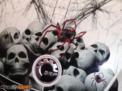 2020+BRP Can-am Spyder RT-Widows-Dinner-frunk-wrap kit-
