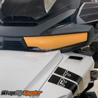 Headlight-protection-2020+-BRP-Can-am-SPyder-RT---RT-Limited in Xpel Paint protection film