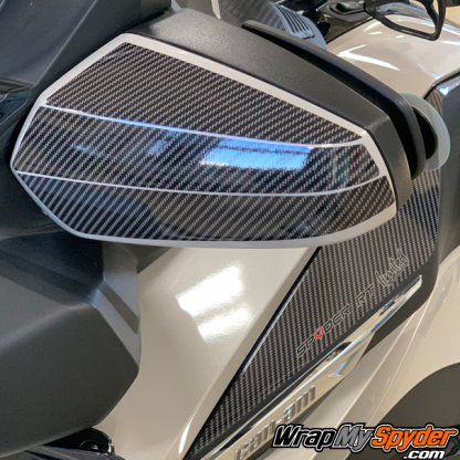 2020+-BRP Can-am-Spyder-RT-RT-Limited-mirror-protection-kit-gloss-carbon-fiber