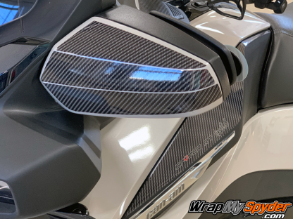 2020+-Spyder-RT-RT-Limited-stone chip protection kit for mirrors