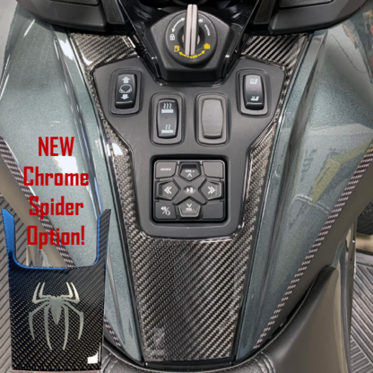 2020+-Can-am-Spyder-RT-RT-Limited-3D-Domed-Switch-Panle-with-Chrome-Spider option