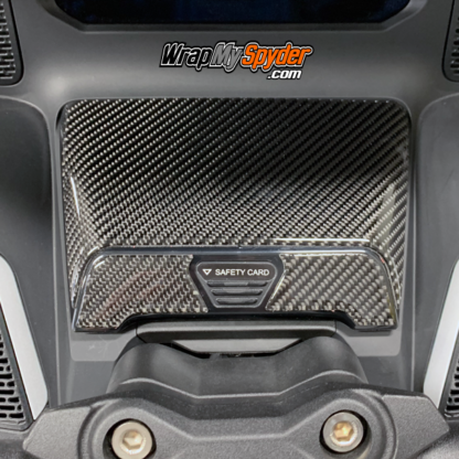 2020+-Can-am-Spyder-RT---RT-Limited-Real-Carbon-Fiber-Domed-Glove-box-kit