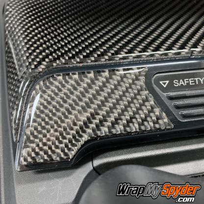 2020+-Can-am-Spyder-RT-Real-Carbon-Fiber-3D-Domed-Glove-box-kit