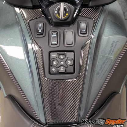 2020+-BRP-Can-am-Spyder-RT---RT-Limited-Domed-Real-Carbon-Fiber-Switch-Panel