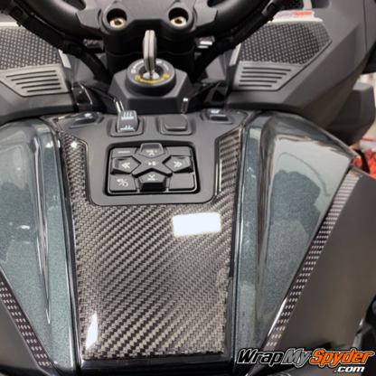 2020+--BRP-Can-am-Spyder-RT---RT-Limited-Domed-Real-Carbon-Fiber-Switch-Panel