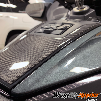 2020+-Can-am-BRP-Spyder-RT---RT-Limited-Domed-Real-Carbon-Fiber-Switch-Panel