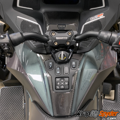 2020+-Can-am-Spyder-RT---RT-Limited-Domed-Real-Carbon-Fiber-Switch-Panel