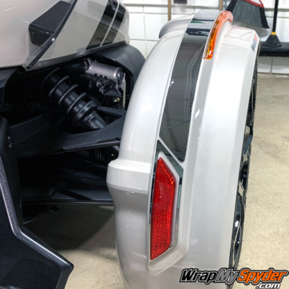 Canam-Spyder--Chrome-accent-Fender-Tops-kit-fo-2019+--Spyder-RT-F3-Models