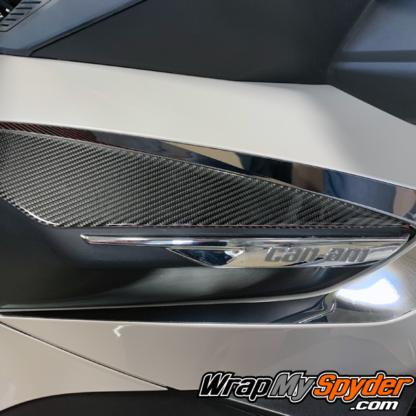 Spyder-RT-RT-Limited-2020-21-models-Knee-Panels--Real-Carbon-fiber--3D-Domed-Can-am--BRP-