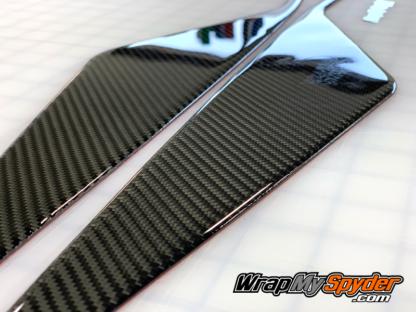 Spyder-RT-RT-Limited-2020-21-models-Knee-Panels-3D-Domed-Can-am--BRP-Real-Carbon-fiber