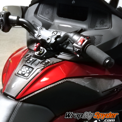 2020-21-Spyder-RT-RT-Limited--Domed-3D-Real-Carbon-Fiber-Knee-Panels-Switch-Panel-Control-Panels