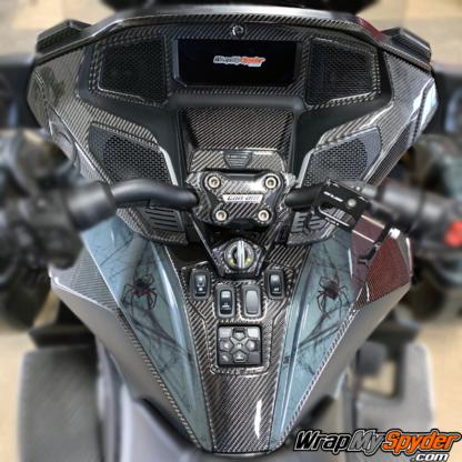 2020+-Can-am-Spyder-RT-25-piece-real-carbon-fiber-dash-kit-