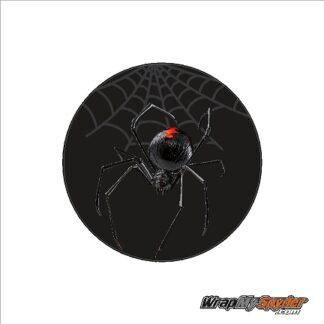 BRP Can-am Spyder emblem cover overlay decal Black Widow Crawler