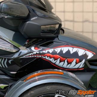 BRP-Can-am-Spyder--SharkTeeth-Kit-2020+-RT-RT-Limited-Spyder-Teeth