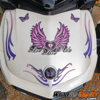 Live-Love-Ride-BRP-Can-am-Spyder-decal-set-Pink-Purple-colors-availabel-for-all-models