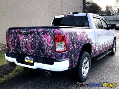 Grass-Cattails Camo truck kit Muddy Girl by moon shine