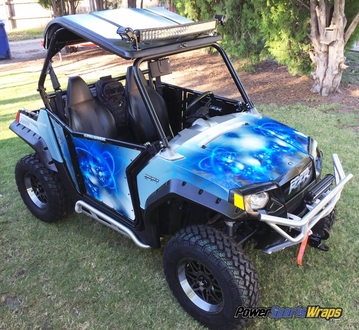 polaris rzr vinyl wrap project