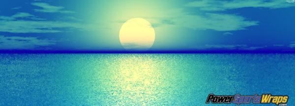 Vinyl Blue Sunrise Wrap