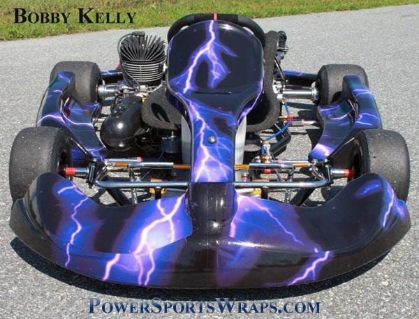 269-lightning-purple go kart wrap