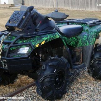 Urban Jungle Mission ATV Wrap