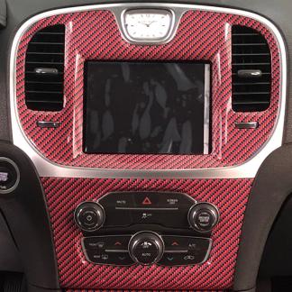 Red-Black-carbon-fiber gloss
