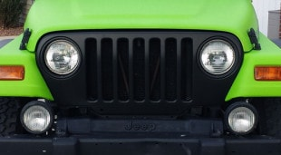 Jeep Wrangler Color Change Vinyl Wrap- Toxic Green