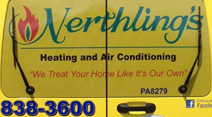 Nerthlings Heating and Air Conditioning Transit Van Wrap