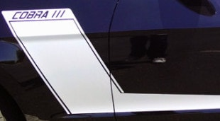 2218 Ford Mustang Racing Stripe