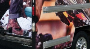 The Boot Box Timberland Pro Truck Wrap